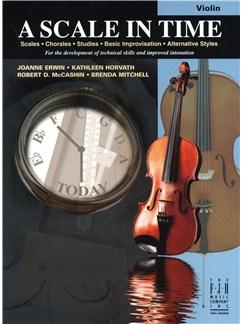 A Scale In Time - Violin Books | Violin