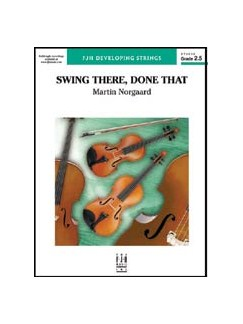 Martin Norgaard: Swing There, Done That Books | String Orchestra