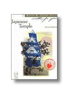 Kevin R. Olson: Japanese Temple Books   Piano