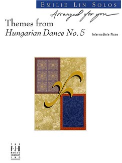 Johannes Brahms: Themes From Hungarian Dance No.5 (Piano) Books | Piano