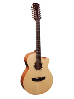 Faith: FKV12 Naked Venus 12 String Cutaway Electro-Acoustic Guitar Instruments | Electro-Acoustic Guitar