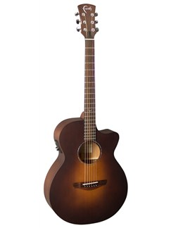 Faith: FKVSB Naked Limited Edition Brown Sunburst Acoustic Guitar Instruments | Guitar
