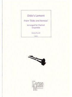 Henry Purcell: Dido's Lament From Dido And Aeneas Books | Clarinet, Ensemble