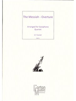 G F Handel: Overture From The Messiah Books | Saxophone, Ensemble