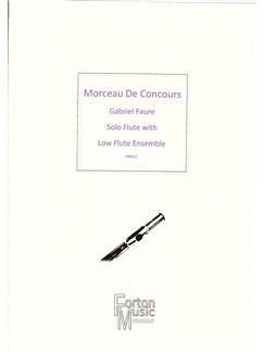 G Faure: Morceau De Concours Books | Flute