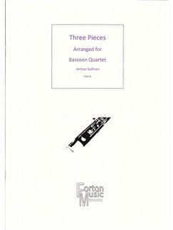 Arthur Sullivan: Three Pieces Books | Bassoon, Ensemble