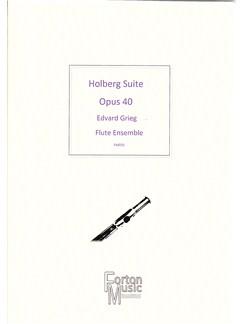 Edvard Grieg: Holberg Suite Op.40 Books | Flute