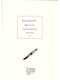 Jacques Offenbach: Duos Op.49 Nos 4-6 Books | Flute, Saxophone