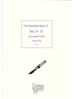 Arcangelo Corelli: Trio Sonatas Op.2 Nos 9-12 Books   Flute, Trio