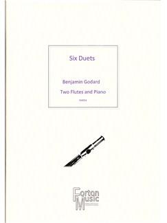 Benjamin Godard: Six Duets Books | Flute, Ensemble, Piano Accompaniment