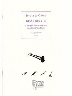 Arcangelo Corelli: Sonata Da Chiesa Op.1 Nos 1-3 (Clarinet Ensemble) Books | Clarinet