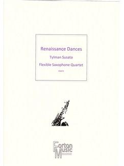 Tylman Susato: Renaissance Dances Books | Saxophone