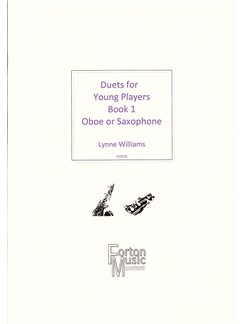 Lynne Williams: Duets For Young Players Book 1 For Oboe Or Saxophone Books | Saxophone