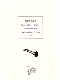F J Gossec: Tambourin Books | Clarinet