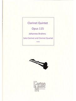 Johannes Brahms: Clarinet Quintet Opus 115 Books | Clarinet
