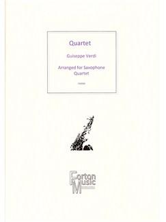 Guiseppe Verdi: Quartet Books | Saxophone
