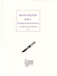 Solos For Alto Flute Book 3 Books | Alto Flute