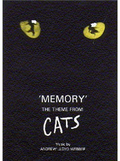Andrew Lloyd Webber: Memory (Theme From 'Cats') Books | Piano and Voice, with Guitar chord symbols