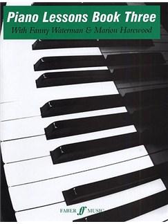 Piano Lessons Book 3 Books | Piano