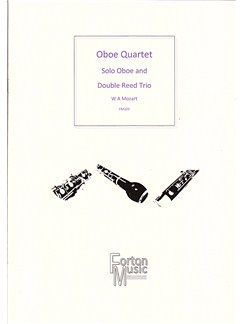 W A Mozart: Oboe Quartet Books | Oboe, Ensemble
