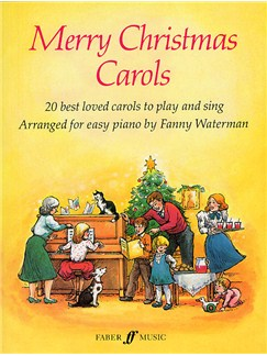 Merry Christmas Carols Books | Voice, Piano Accompaniment, Easy Piano