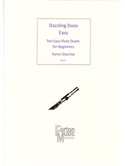 Karen Gourlay: Dazzling Duos Easy Books | Flute