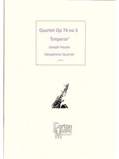 Joseph Haydn: Quartet Opus76 No.3 'Emperor Quartet' Books | Saxophone
