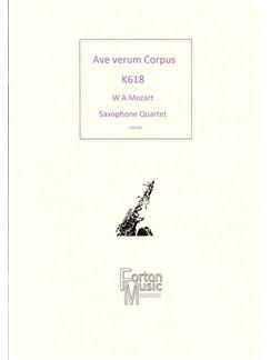 W A Mozart: Ave Verum Corpus Books | Saxophone