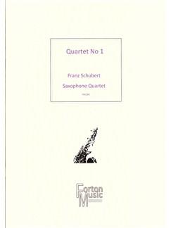 Franz Schubert: Quartet No.1 Books | Saxophone
