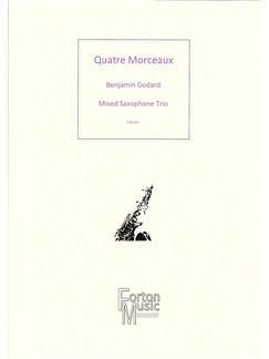 Benjamin Godard: Quatre Morceaux Books | Saxophone