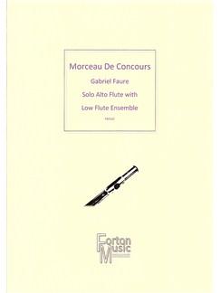 Gabriel Faure: Morceau de Concours (Alto Flute Solo) Books | Alto Flute, Ensemble