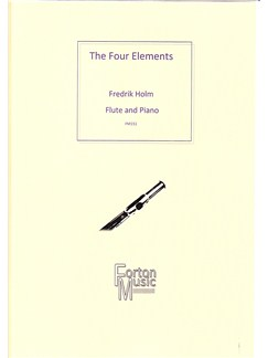 Fredrik Holm: The Four Elements Books | Flute, Piano Accompaniment