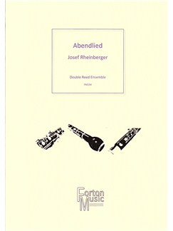 Josef Rheinberger: Abendlied Op.69 No.3 Books | Bassoon, Oboe, Ensemble