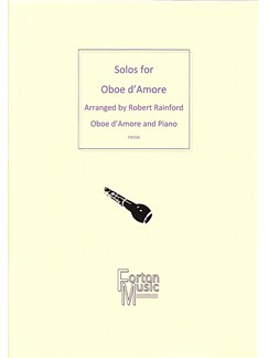 Solos for Oboe d'Amore Books | Oboe, Piano Accompaniment