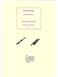 Fredrik Holm: Awakening Books   Bassoon, Flute, Guitar