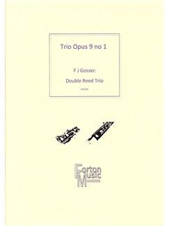 Francois Joseph Gossec: Trio Op.9 No.1 Books | Bassoon, Trio