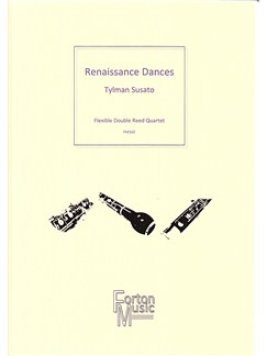 Tylman Susato: Renaissance Dances Books | Bassoon, Oboe