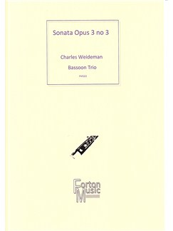 Charles Weidemann: Sonata Op.3 No.3 Books | Bassoon, Trio