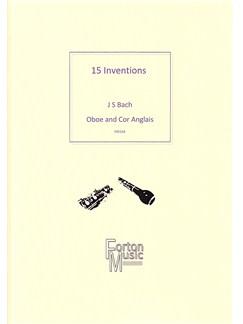 J.S. Bach: 15 Inventions (Oboe/Cor Anglais) Books | Cor Anglais, Oboe