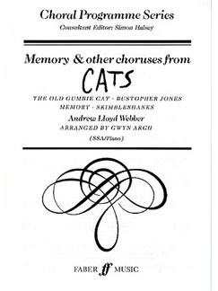 Andrew Lloyd Webber: Memory And Other Choruses From Cats (SSA/Piano) Books | SSA, Piano Accompaniment