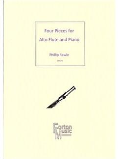 Phillip Rawle: Four Pieces For Alto Flute Books | Alto Flute, Piano Accompaniment