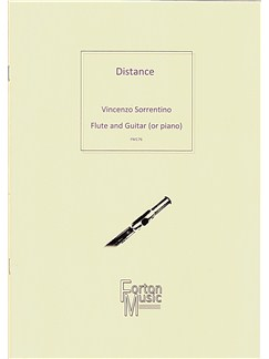 Vincenzo Sorrentino: Distance Books | Flute, Guitar, Piano Accompaniment