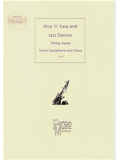 Phillip Rawle: Nice 'n' Easy and Jazz Dances (Tenor Saxophone/Piano) Books and CDs | Tenor Saxophone, Piano Accompaniment