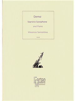 Vincenzo Sorrentino: Demo Books | Soprano Saxophone, Piano Accompaniment