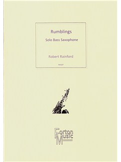 Robert Rainford: Rumblings Books | Bass Saxophone