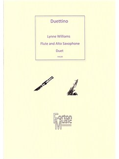 Lynne Williams: Duettino Books | Flute, Alto Saxophone