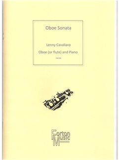 Lenny Cavallaro: Oboe Sonata Books   Flute, Oboe, Piano Accompaniment