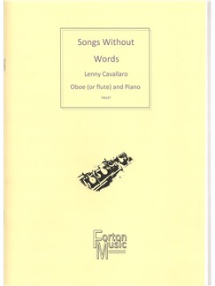 Lenny Cavallaro: Songs Without Words Books | Flute, Oboe, Piano Accompaniment