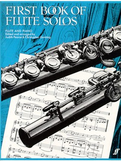 First Book Of Flute Solos Books | Flute, Piano