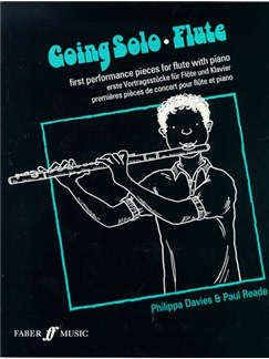 Going Solo Flute Books | Flute, Piano Accompaniment